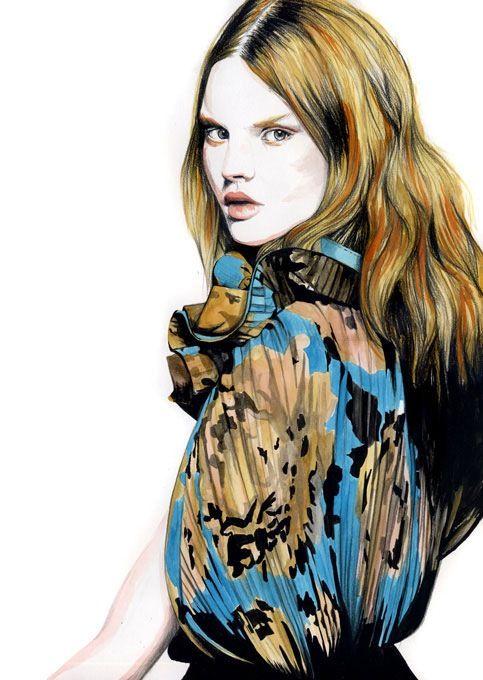 Ilustração com cores