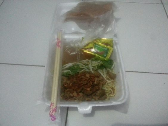 Semarang chicken noodles,  the most delicious chicken noodles that I've eat so far