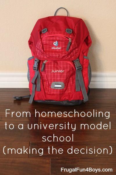 University model home school
