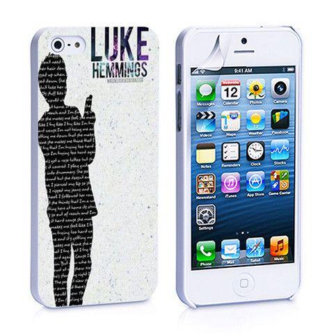 Luke Hemmings iPhone 4, 4S, 5, 5C, 5S Samsung Galaxy S2, S3, S4 Case – iCasesStore
