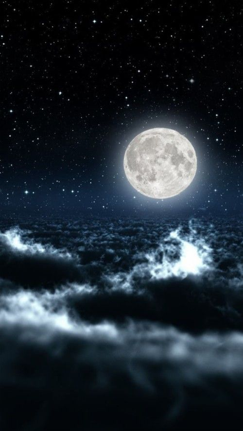 Sky Wallpaper Iphone 93 En 2020 Magnifique Lune Fond Etoile Fond Ecran Galaxie