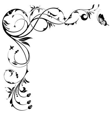 Ribete floreado florales and arte on pinterest