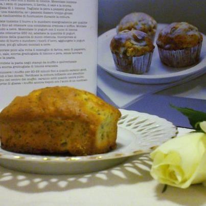 Muffin semi di papavero e limone