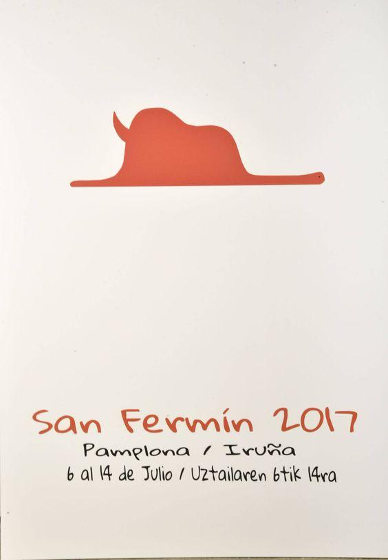 Carteles finalistas de San Fermín 2017 (8/9):