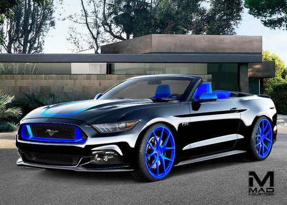 Customized Mustang >> It S Not Sema Without The Ford Mustang Eight Customized Ponies