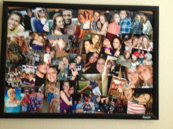 canvas photo board ideas - Picture collages Collage and on Pinterest