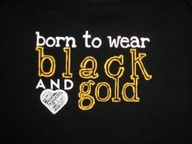 luv black & gold!: