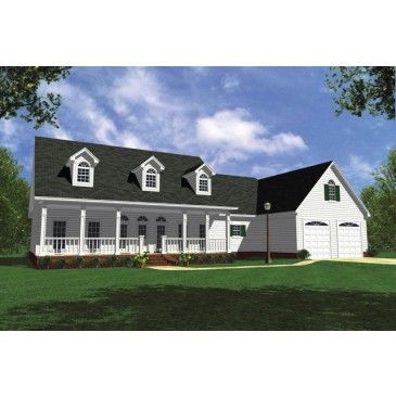 AmazingPlans.com House Plan #HPG-1848 - Colonial, Country, Farmhouse, Luxury, Ranch, Southern, Traditional