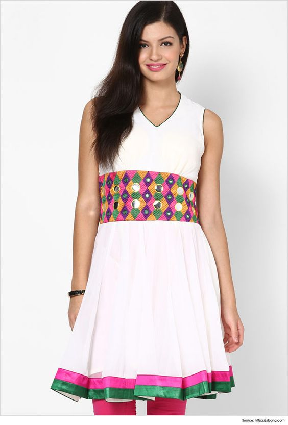 Top 6 Simple Yet Stylish Neck Designs For Kurtis  Top 6 Simple Yet Stylish  Neck. Top Designs Images