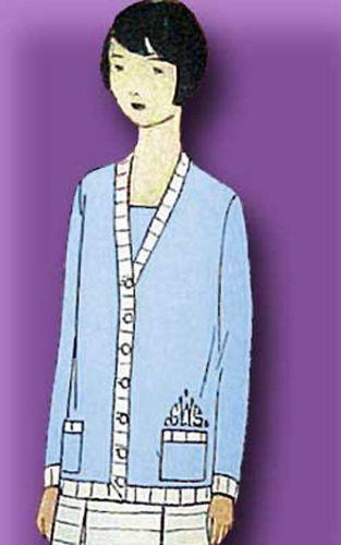 1920s Original Lovely Unused Junior Girls Flapper Suit Pattern | eBay
