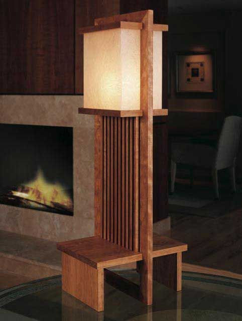 Frank Lloyd Wright Lamp Downloadable Plan Wright Furniture Plans Frank Lloyd Wright Lamp Furniture Plans