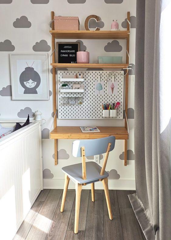 Déco - Mini bureau pour chambre d'enfant - L'An Vert du Décor