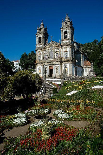 Igreja e Mosteiro do Santuário do Bom Jesus. Braga (Portugal)