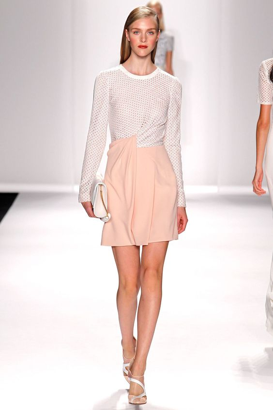 J. Mendel Spring 2014 Ready-to-Wear Fashion Show