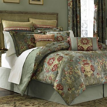 Adelia Sage Green Comforter Bedding Croscill Bedrooms Decor Amp More Pinterest Colors