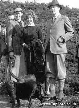 Debo and Harold MacMillan - Bolton Abbey, 1960