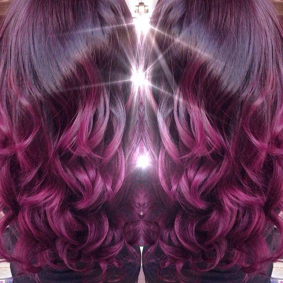 cheveux cheveux cerise noire cheveux cerise ombre cheveux violet prune noire ongles cheveux plus beaut ongles maquillage cheveux beaut des cheveux - Coloration Noir Cerise