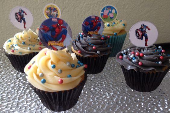 Cupcakes para niños Arte, amor y sabor repostería personalizada