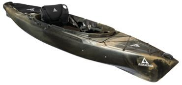 Ascend fs12 sit in angler kayak camo bass pro shops for Bass pro shop fishing kayaks