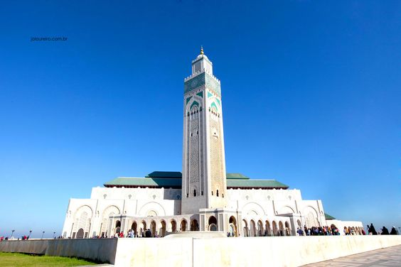 The Hassan II Mosque #Casablanca #Marocco #Africa #trip #landscape #photography #travel
