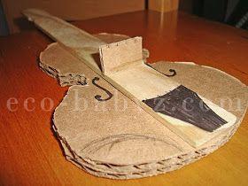 Eco-Babyz: Cardboard Violin Tutorial