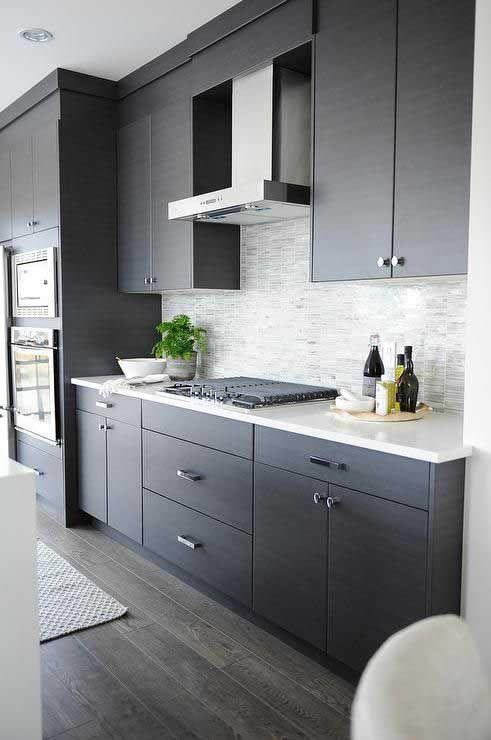 Dark Grey Kitchen Cabinets Ideas
