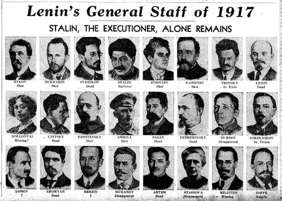 lenin's general staff of 1917: