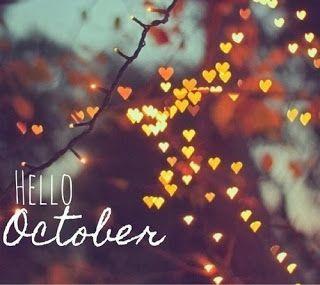 Hello October. Fall
