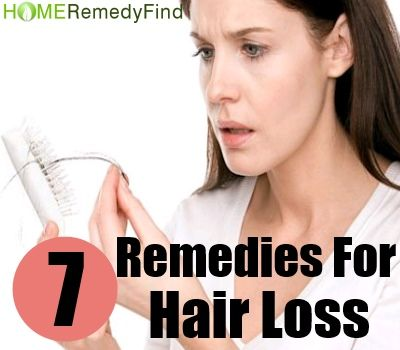 Seven Amazing Home Remedies For Hair Loss