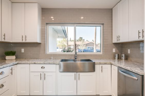 Findley Amp Myers Malibu White Cabinets Kitchen Renovation