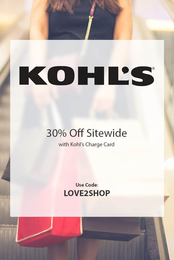 Kohls 30 off coupon code for july 2018