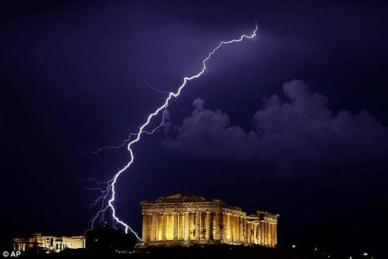 Striking: A temple to the Greek goddess Athena, the Parthenon was constructed in the fifthC. B.C.