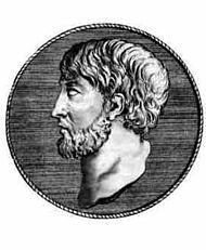 Anaxímenes de Mileto (Grego: Άναξιμένης; 588-524 a.C.) foi um filósofo pré-socrático do Período Arcaico, activo na segunda metade do século VI a.C. Foi um dos três filósofos da escola milésia, é identificado como dicispulo de Anaximandro. Anaxímenes, tal como outros na sua escola de pensamento, praticou o materialismo monista.6 5 Esta tendência para identificar uma específica realidade composta de um elemento material constitui o âmago das contribuições que deu fama a Anaxímenes.