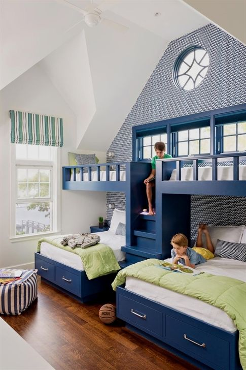 Beautiful Bunk Bed Floating Examples Bunk Beds Source Http Www Bostonglobe Com Magazine 2016 06 17 Cape Cod Bunk Beds Built In Bunk Bed Designs Bunk Rooms