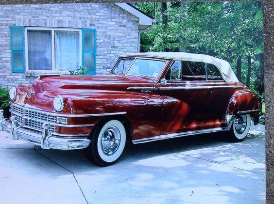 1948 Chrysler New Yorker Convertible, Highlander Interior