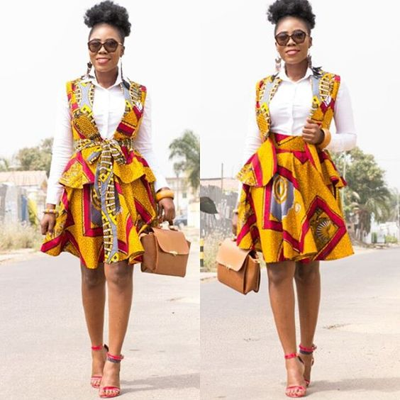 Stunning, Fabulous, On-the Trend Ankara Styles - Wedding Digest NaijaWedding Digest Naija: