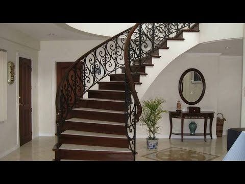 سلالم داخلية كتالوج صور ديكورات سلالم مودرن 2020 Modern Stairs Design Youtube Staircase Design Staircase Modern Stairs