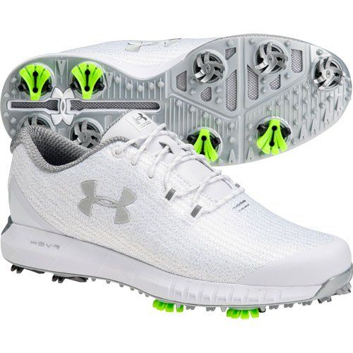 HOVR Drive Woven Golf Shoes   White
