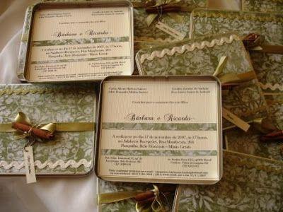 Fabrica de Sonho: Convites de Casamento