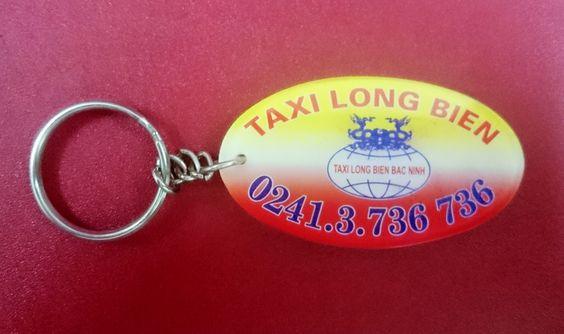 móc khóa taxi