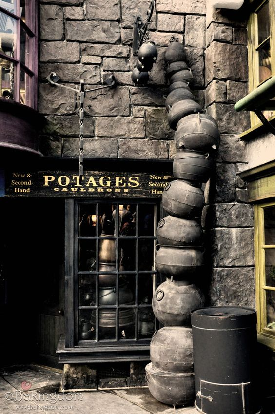 A First Look Inside the Wizarding World of Harry Potter - This page has some amazing photos of the Harry Potter Theme Park in Orlando.