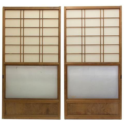 Sugi Yuki Shoji Cedar Japanese Snow Doors Architectural Decor