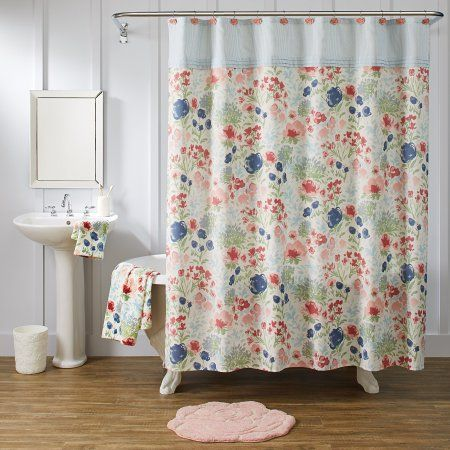 cf19e50cb00cd7db1eee292a369c736a - Better Homes And Gardens Tranquil Floral Curtains