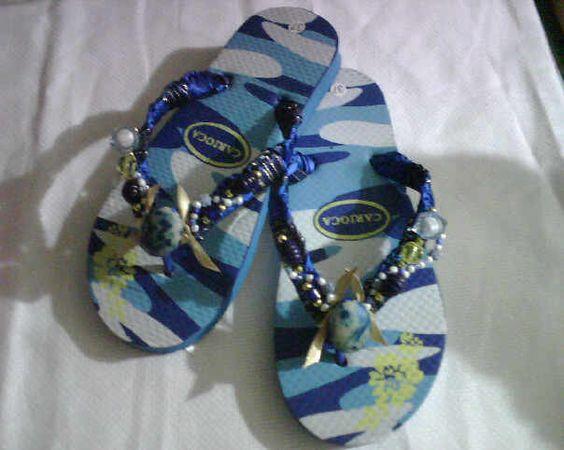 Ayuda como bordar sandalias con cintas