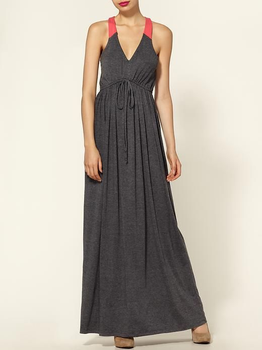 Maxi dress in 2 tones by Hive & Honey