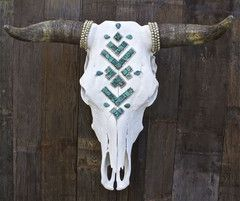 This is my FAV!! Already have the cow skull, just need to accessorize.   ÑAVAJᎾ s k i e s Cow Skull