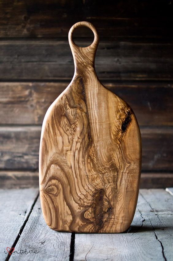 ash wood serving board: