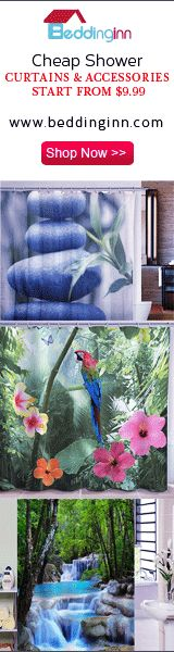 Amazing 3D Floral Curtains from Beddinginn
