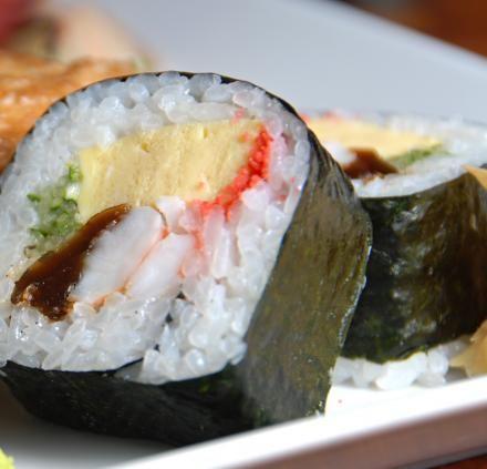 Receita de futomaki, do Rangetsu - Culinária - Receitas - Made in Japan