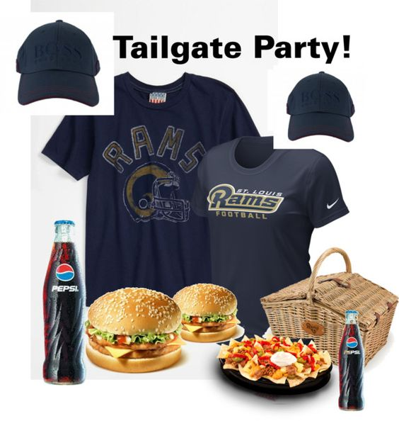 """""""Tailgate Party"""" by julie-chadwick on Polyvore"""